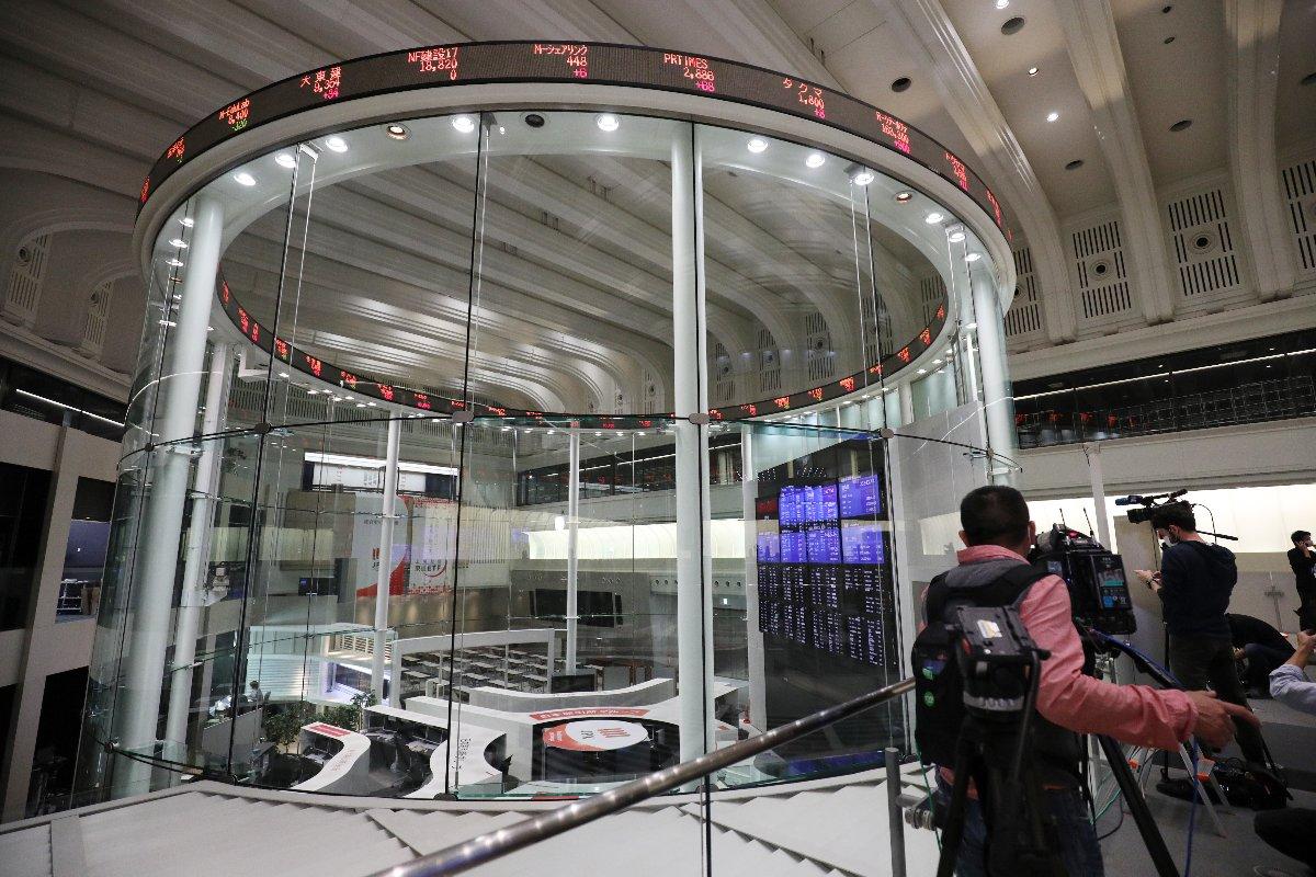 現在の東京証券取引所=2020年10月、東京・日本橋兜町
