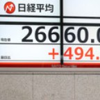 〔ブル&ベア〕上値追い=米株高に「理屈抜きで追随」
