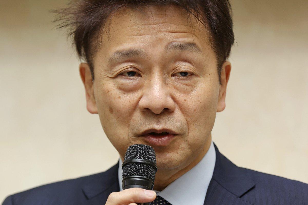 中塚一宏氏=2020年12月、大阪市西区