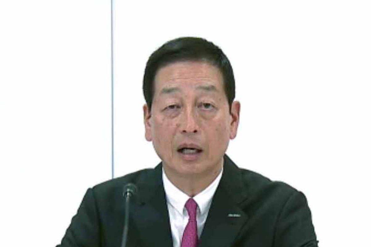 資生堂の魚谷雅彦社長=2021年2月