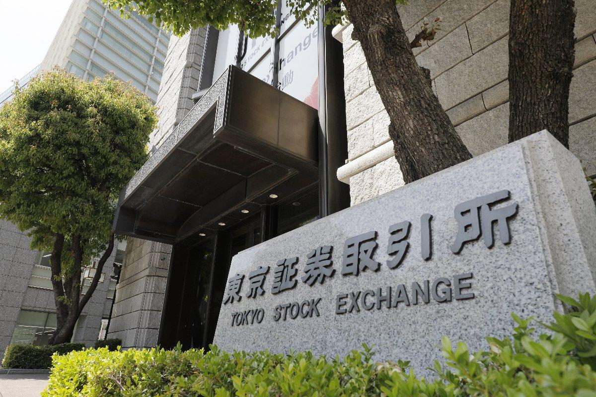 東京証券取引所=4月20日、東京都中央区