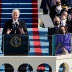 バイデン米大統領就任=「国民の団結に全霊」―コロナ克服訴え・首都厳戒