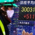 日経平均、30年半ぶり3万円台回復=ワクチン承認、景気回復期待―東京市場