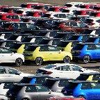 自動車大手8社の1月国内生産、10.1%減=半導体不足響く