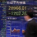 東京株急落、1200円超安=日米金利上昇を警戒―4年8カ月ぶり下げ幅