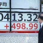 20年度の日経平均、1万0261円上昇=戦後最大の上げ幅―東京株式市場